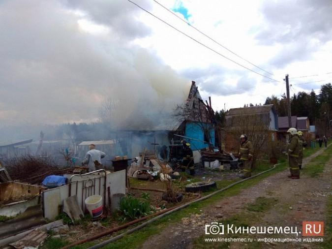 В Кинешемском районе сгорел садовый домик фото 5