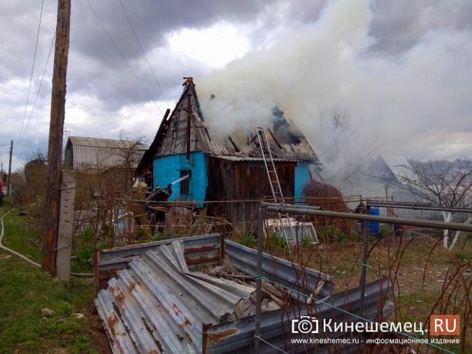 В Кинешемском районе сгорел садовый домик фото 4