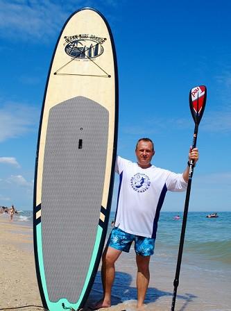 Житель Ессентуков проплывет до Кинешмы на доске для серфинга фото 2