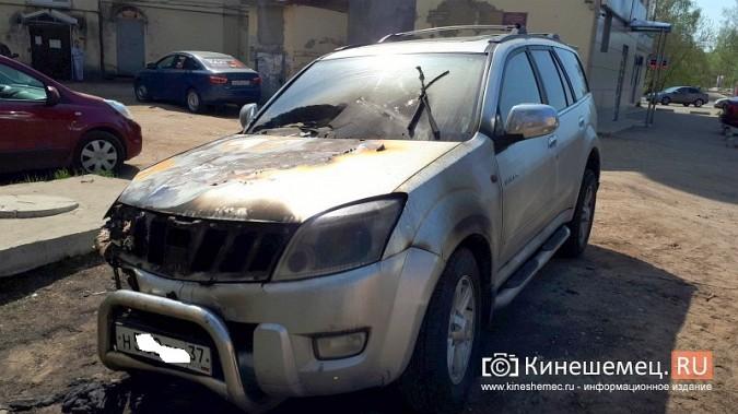Полиция Кинешмы выясняет причины ночного возгорания «Грейт Уолл Ховера» фото 4