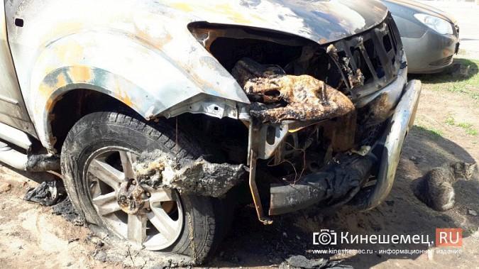 Полиция Кинешмы выясняет причины ночного возгорания «Грейт Уолл Ховера» фото 3