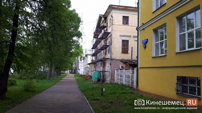 Ко Дню города в Кинешме отремонтируют фасад Дома дворянства на Волжском бульваре фото 3