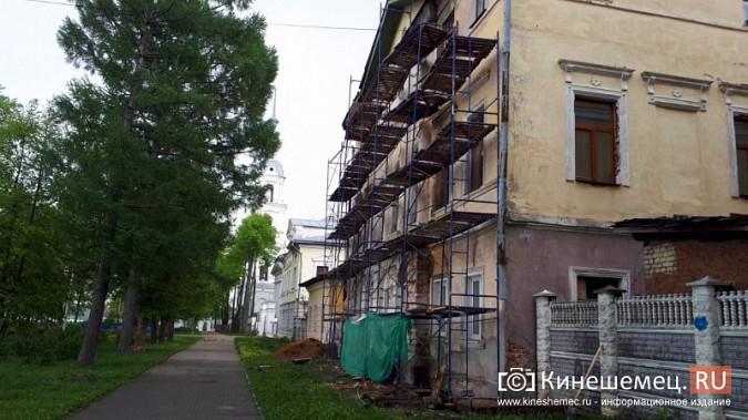 Ко Дню города в Кинешме отремонтируют фасад Дома дворянства на Волжском бульваре фото 2