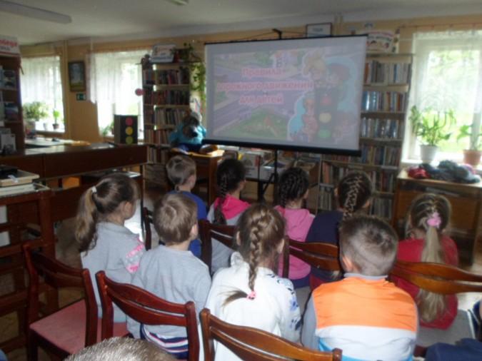 В библиотеке кинешемских детей учили правилам дорожного движения фото 4