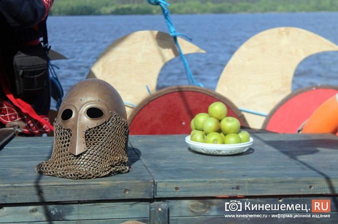 Древнерусская ладья «Змей Горыныч» пришвартовалась в Кинешме фото 35