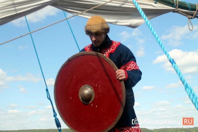 Древнерусская ладья «Змей Горыныч» пришвартовалась в Кинешме фото 36