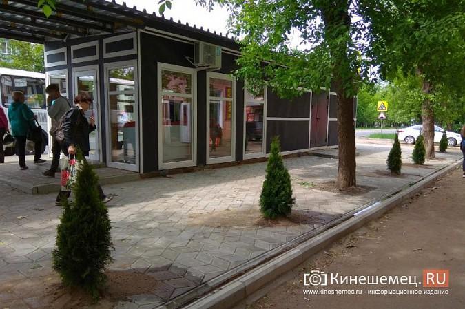 Судящийся с мэрией Кинешмы предприниматель продолжает благоустраивать остановку на «Чкаловском» фото 2