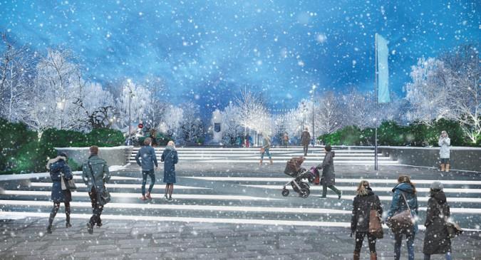 С подачи губернатора Воскресенского началась реконструкция главного мемориала Кинешмы фото 9