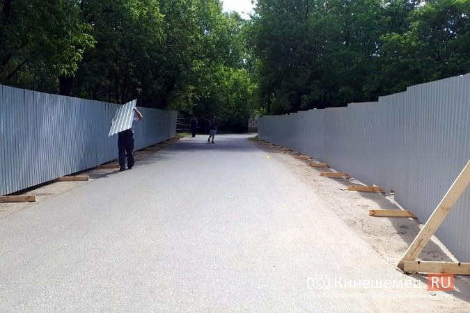 С подачи губернатора Воскресенского началась реконструкция главного мемориала Кинешмы фото 7
