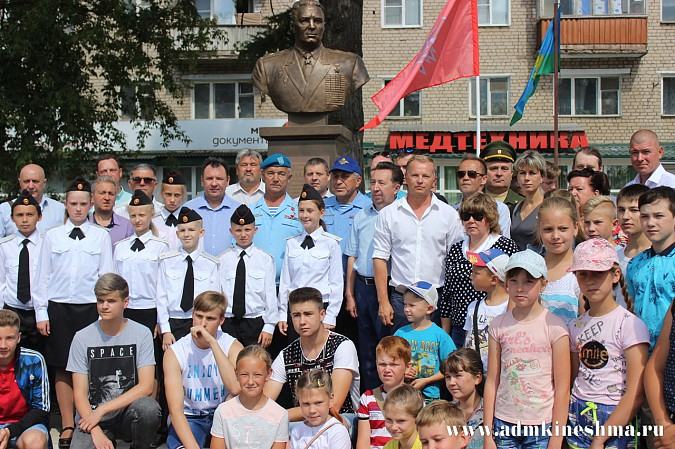Кинешму посетил Герой Советского Союза генерал-полковник Валерий Востротин фото 13