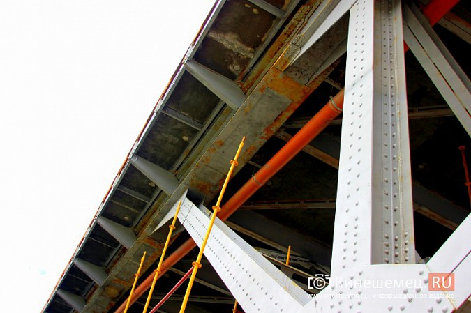 К повторной покраске Никольского моста в Кинешме по-прежнему не приступили фото 7