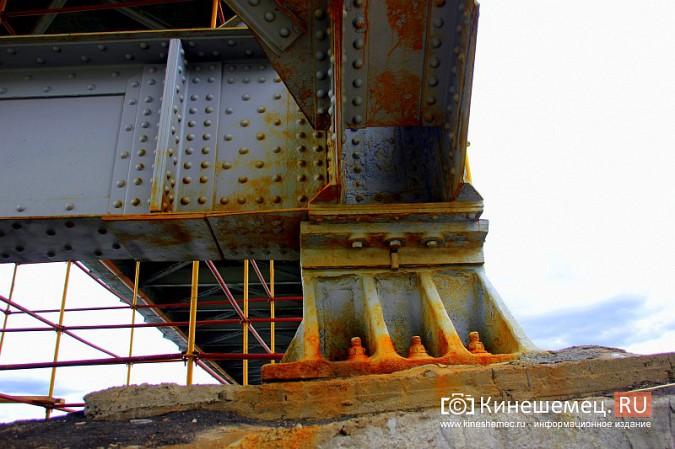 К повторной покраске Никольского моста в Кинешме по-прежнему не приступили фото 5