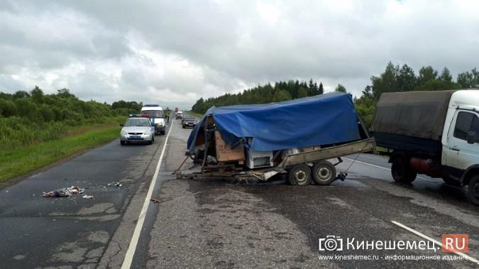 Кинешемка погибла в жуткой аварии при столкновении «Audi» с автоприцепом по пути в Иваново фото 10