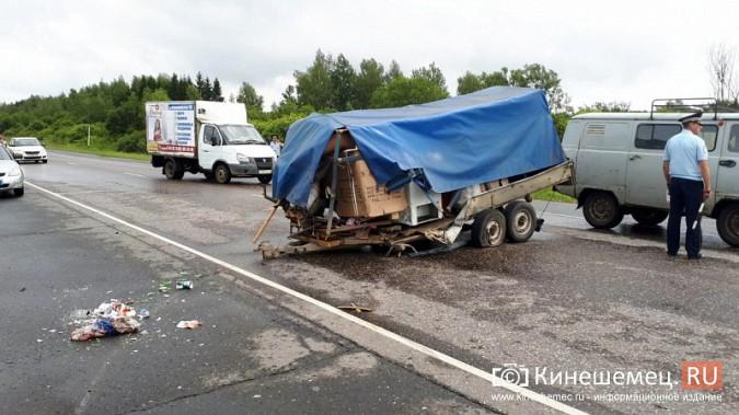 Кинешемка погибла в жуткой аварии при столкновении «Audi» с автоприцепом по пути в Иваново фото 7
