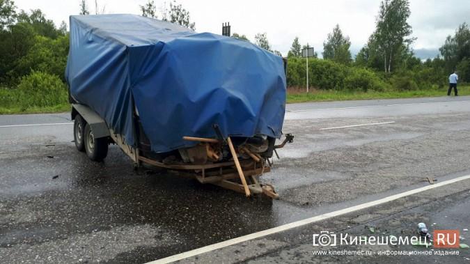 Кинешемка погибла в жуткой аварии при столкновении «Audi» с автоприцепом по пути в Иваново фото 5