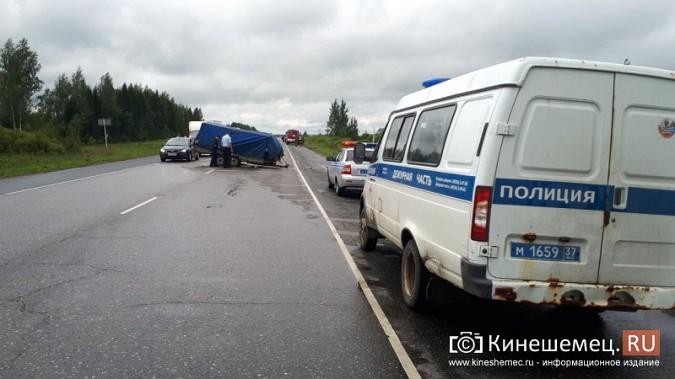 Кинешемка погибла в жуткой аварии при столкновении «Audi» с автоприцепом по пути в Иваново фото 9