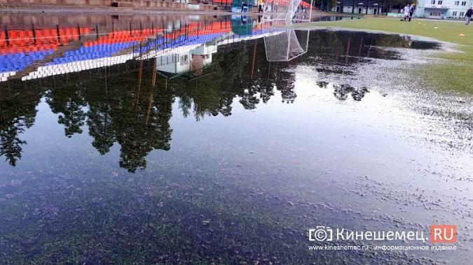 В Кинешме «тонет» и разваливается искусственное поле, на которое потратили 20 миллионов фото 9
