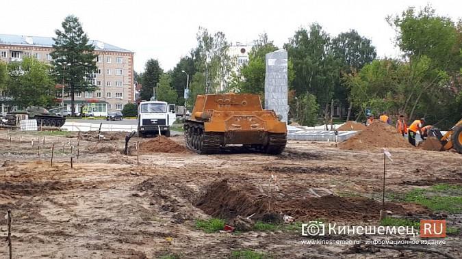 Пушки и танки в кинешемском парке готовят к покраске фото 6