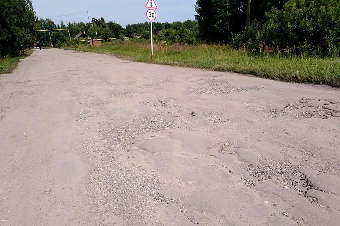 В селе Октябрьский Кинешемского района планируют отремонтировать разбитую дорогу фото 3