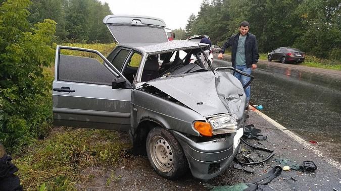 В очередном жутком ДТП у Малинок под Ивановом столкнулись 3 автомобиля фото 5