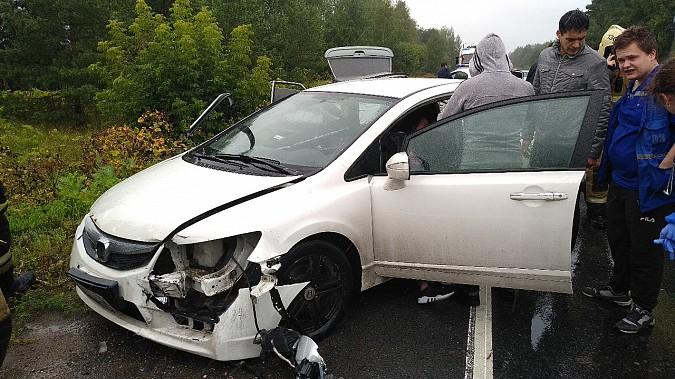 В очередном жутком ДТП у Малинок под Ивановом столкнулись 3 автомобиля фото 7