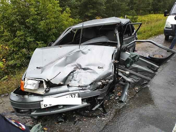 В очередном жутком ДТП у Малинок под Ивановом столкнулись 3 автомобиля фото 9