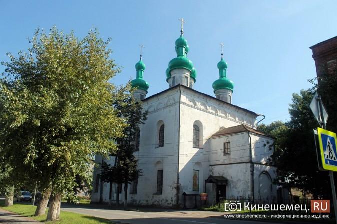 На храме Вознесения Господня покрасили купола фото 2