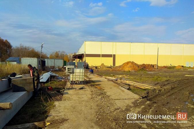 Возобновилось строительство второго здания самого большого торгового центра Кинешмы фото 4