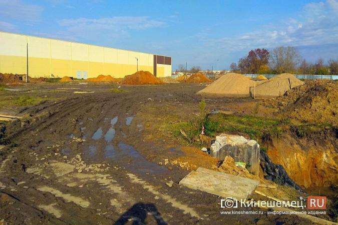 Возобновилось строительство второго здания самого большого торгового центра Кинешмы фото 5