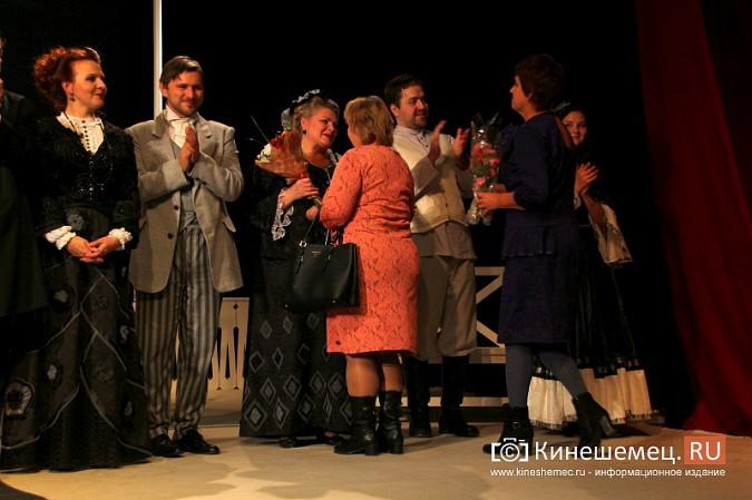 Губернатор Ивановской области оценил премьеру «Бесприданницы» в Кинешме фото 13