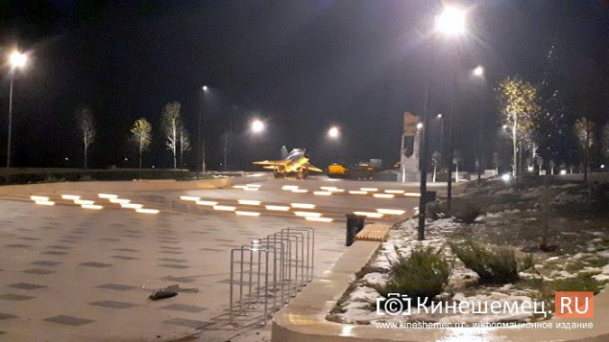 Кинешемский парк засиял огнями - включена новая подсветка фото 11