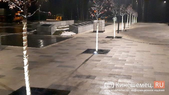 Кинешемский парк засиял огнями - включена новая подсветка фото 9