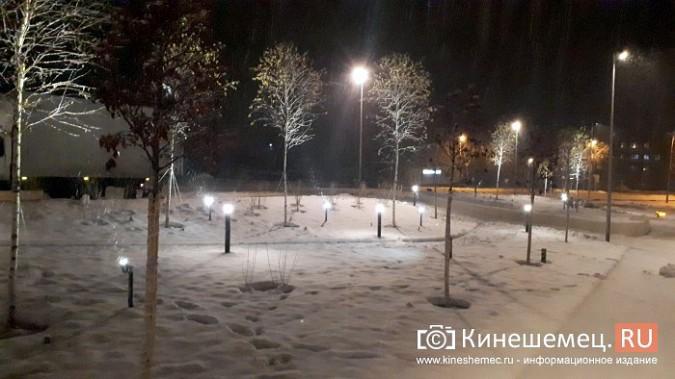 Кинешемский парк засиял огнями - включена новая подсветка фото 17