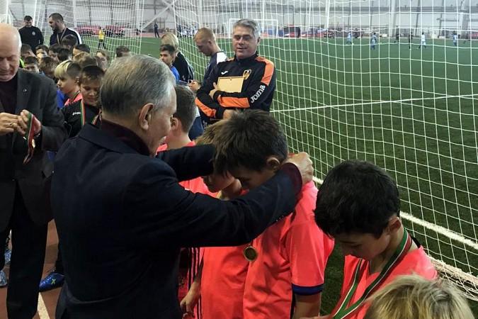 «Наши надежды» выиграли международный футбольный турнир в Казани фото 13