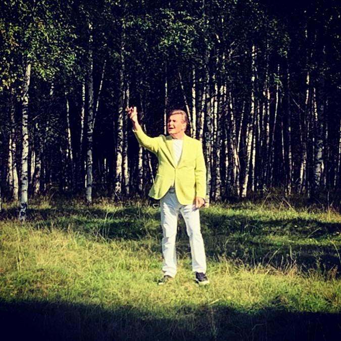 Лев Лещенко представил клип «Соловьиная роща», снятый под Кинешмой фото 6
