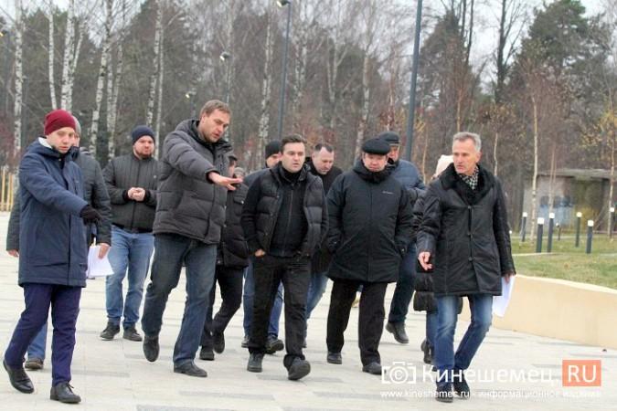 Станислав Воскресенский оценил благоустройство центрального парка Кинешмы фото 5