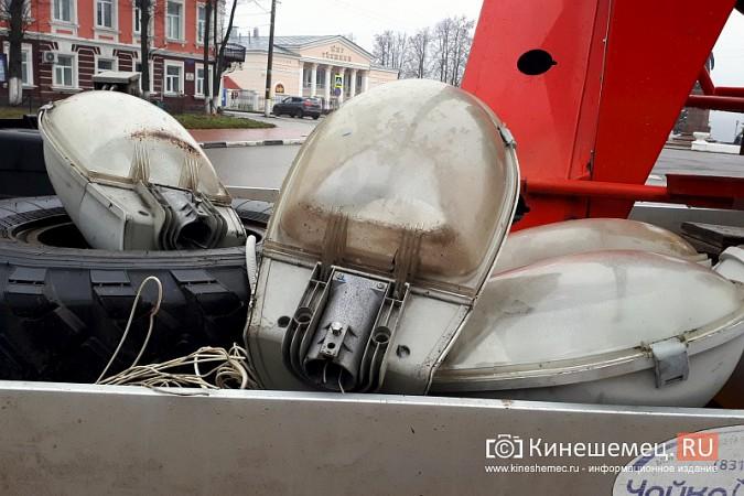 К середине декабря на улицах Кинешмы завершится установка светодиодных фонарей фото 6