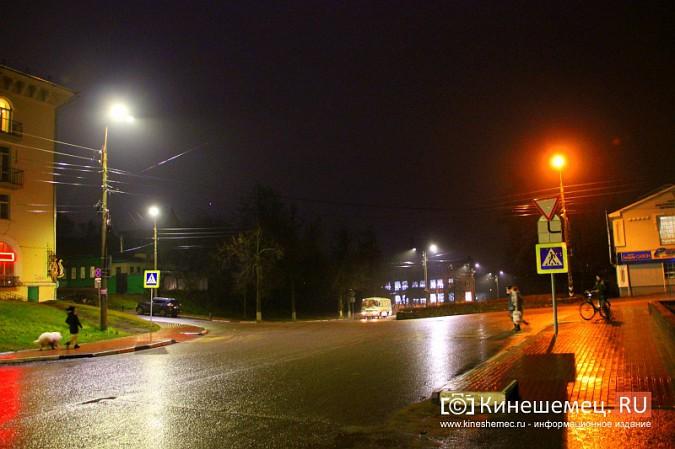 К середине декабря на улицах Кинешмы завершится установка светодиодных фонарей фото 10