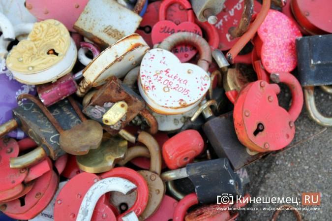 Мэрия Кинешмы дала указание срезать замки с «дерева любви» на Волжском бульваре фото 5