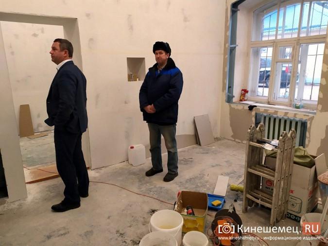 На кинешемской «скорой» продолжается ремонт помещений на первом этаже фото 6