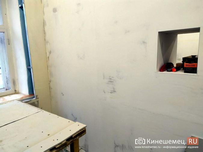 На кинешемской «скорой» продолжается ремонт помещений на первом этаже фото 9
