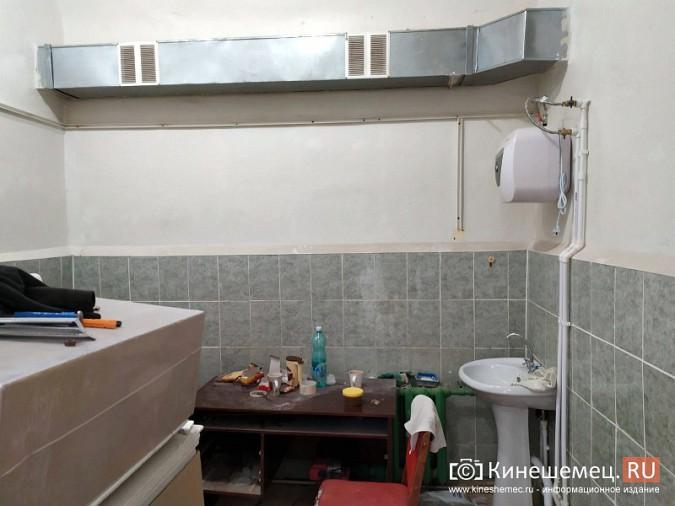 На кинешемской «скорой» продолжается ремонт помещений на первом этаже фото 10