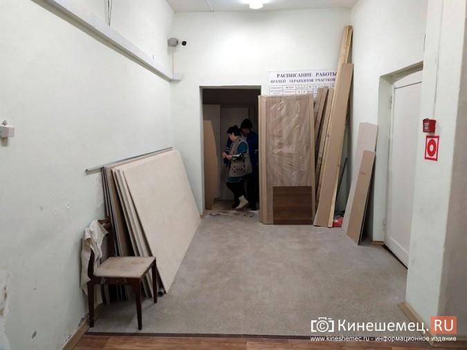 На кинешемской «скорой» продолжается ремонт помещений на первом этаже фото 3