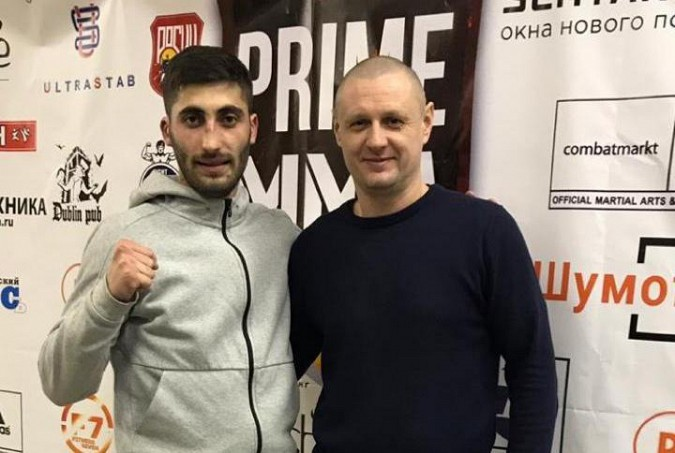 Кинешемец Рафаэль Саргсян одержал победу на турнире PRIME MMA в Иванове фото 2