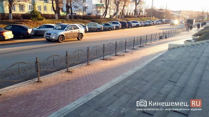 Ограждения у мэрии Кинешмы вызвали вопросы у депутатов фото 2