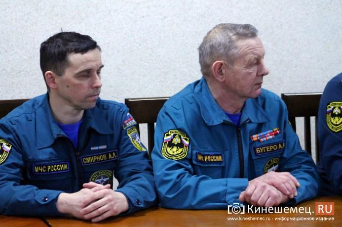 В Кинешме представили новых руководителей противопожарной службы фото 6