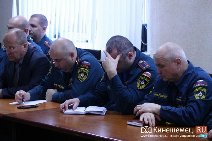 В Кинешме представили новых руководителей противопожарной службы фото 14