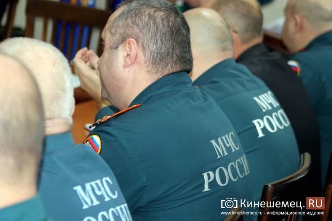 В Кинешме представили новых руководителей противопожарной службы фото 23