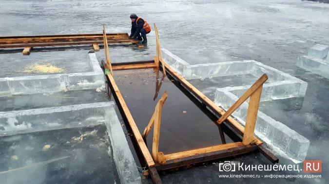 Для безопасности православные Кинешмы пойдут к купели по деревянным настилам фото 5
