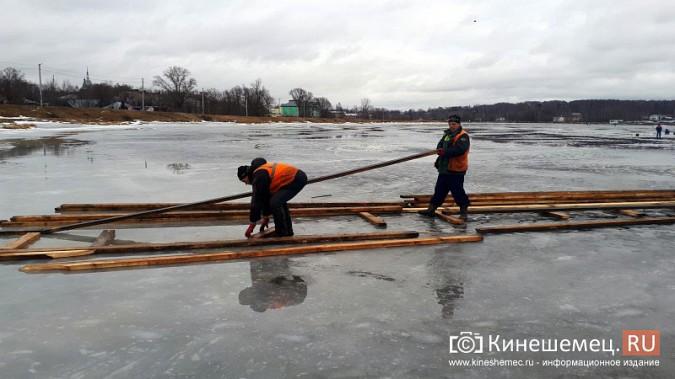 Для безопасности православные Кинешмы пойдут к купели по деревянным настилам фото 3